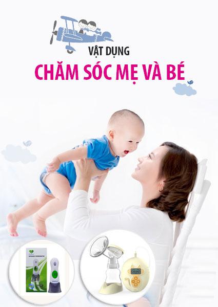 sản phẩm chăm sóc sức khỏe cho mẹ và bé