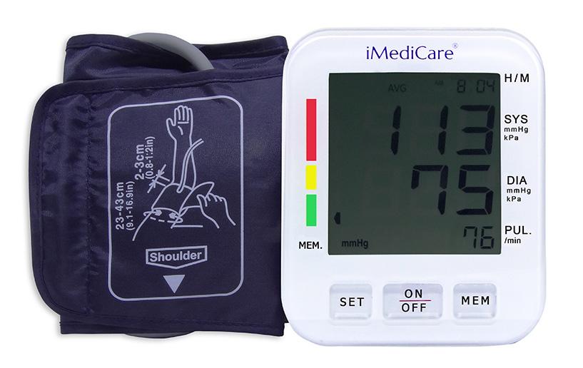 Máy đo huyết áp bắp tay iMediCare iBPM-6S
