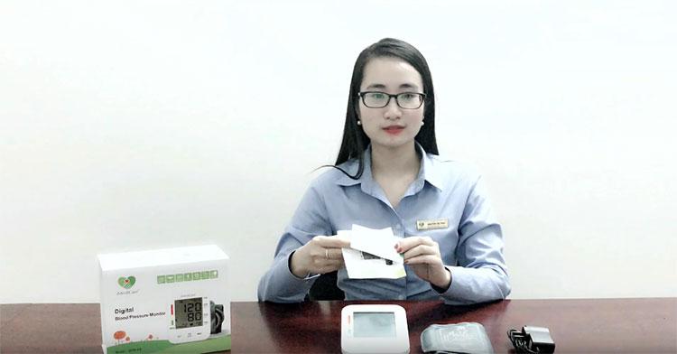 Hướng dẫ sử dụng máy đo huyết áp bắp tay iMediCare iBPM-6S - Cách đo huyết áp